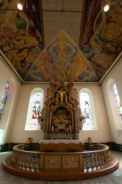 OSLO. DOMKIRKE CHURCH.