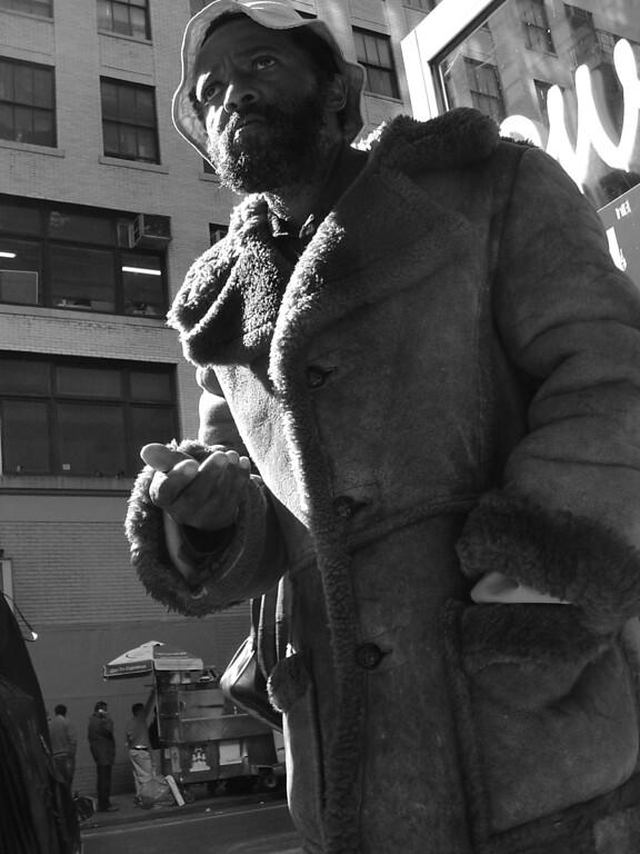 Begging in New York City