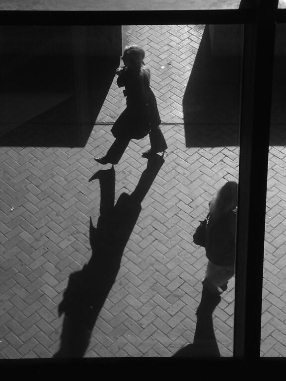 Morning shadows in New York City