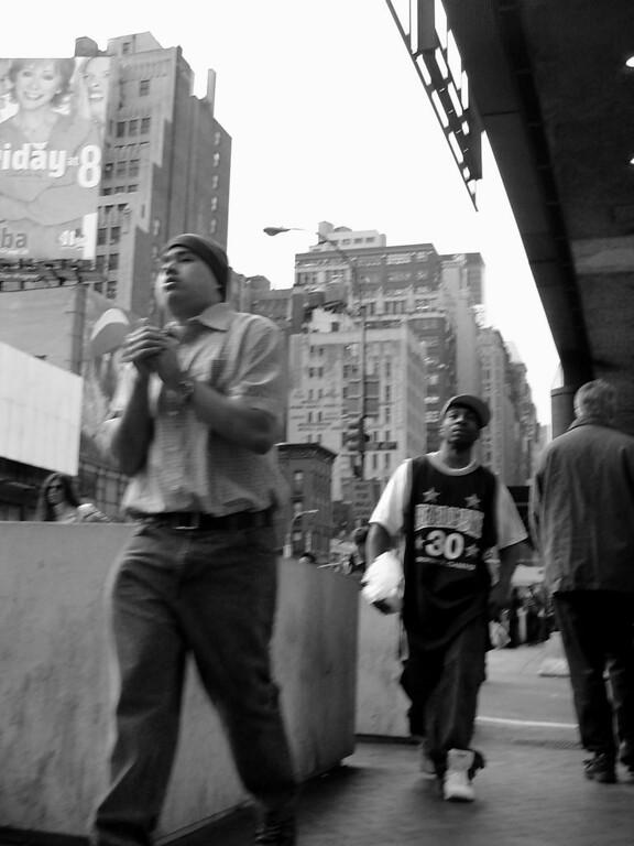 Struting in New York City
