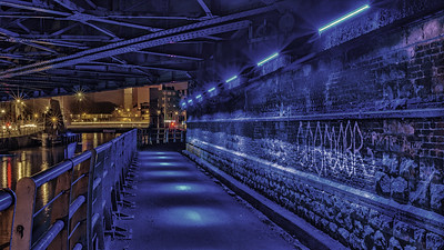 Aalst train bridge