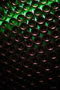 Wall display, Domaine Chandon, Napa Valley, California