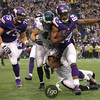 Philadelphia Eagles at Minnesota Vikings NFL football at Mall of America Metrodome in Minneapolis, Minnesota