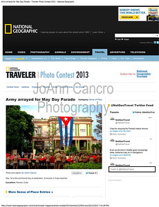 Army arrayed for May Day Parade - Traveler Photo Contest 2013 - National Geographic