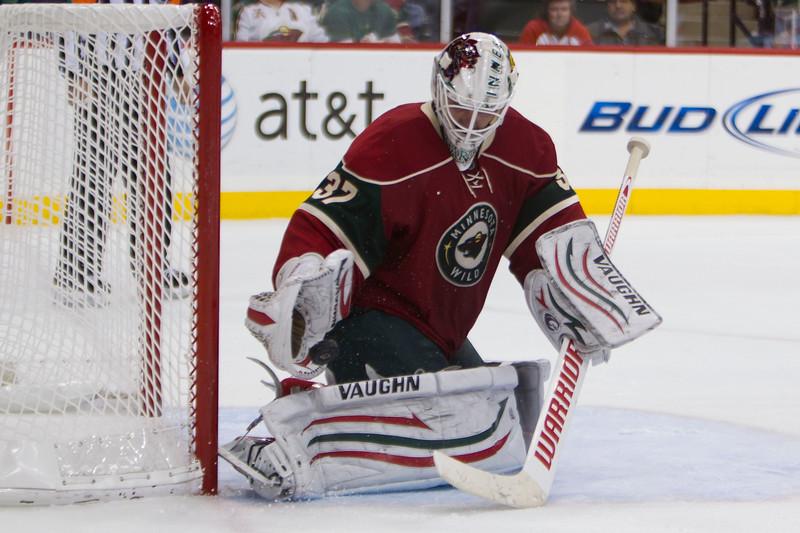 NHL 2011 - Oct 15 - Detroit Red Wings v Minnesota Wild