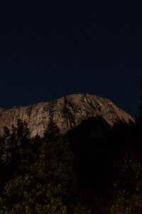 Ursa Major (Big Dipper) over Yosemite Valley