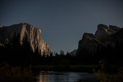 Yosemite Valley at Midnight