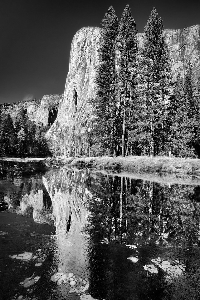 Ice on Merced River