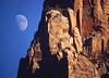Moonrise, Zion Nat'l Park, 1990s