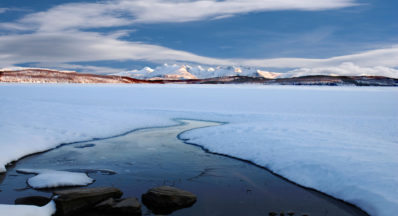 Winter Soløyvannet