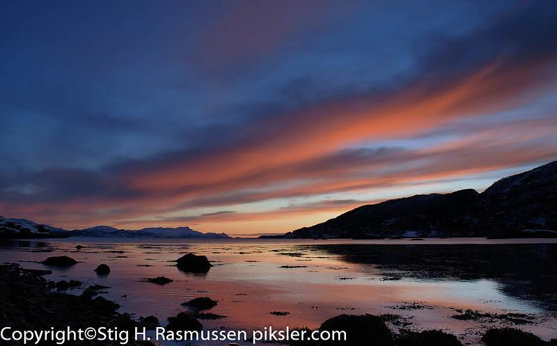 Clouds over Saltenfjorden
