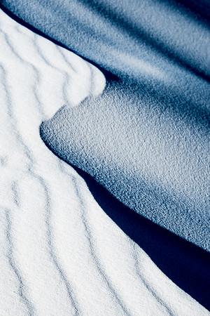 Abstract of sand ripple