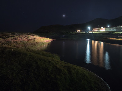 Lagoon at Night
