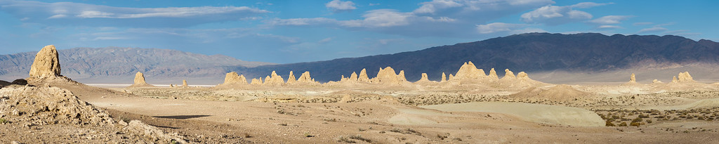 Trona Pinnacles Pano
