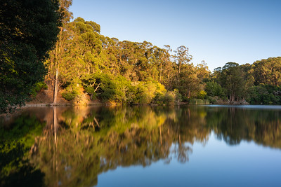 Lake Anza during Golden Hour