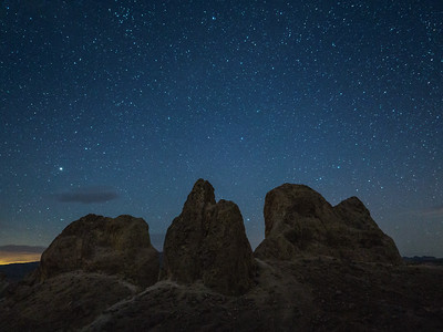 Stars above the Pinnacles II