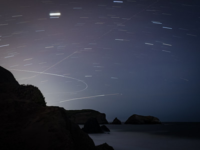 Star Trails & Flight Paths