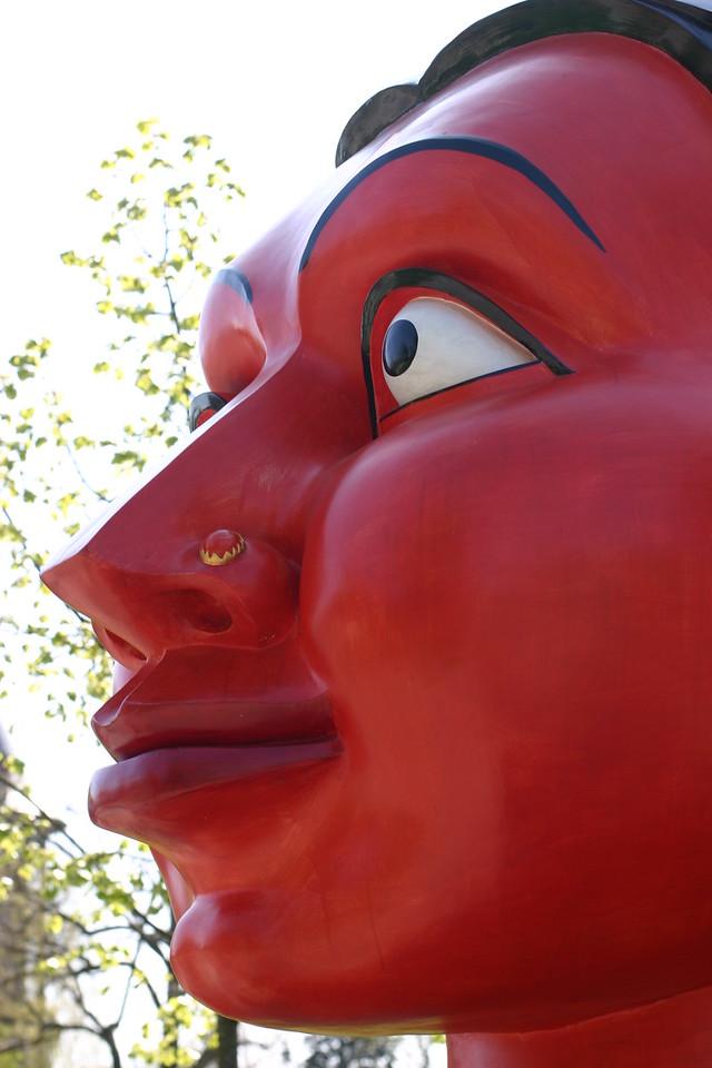 """A sculpture at """"Parc d'Acclimatation"""" Paris"""