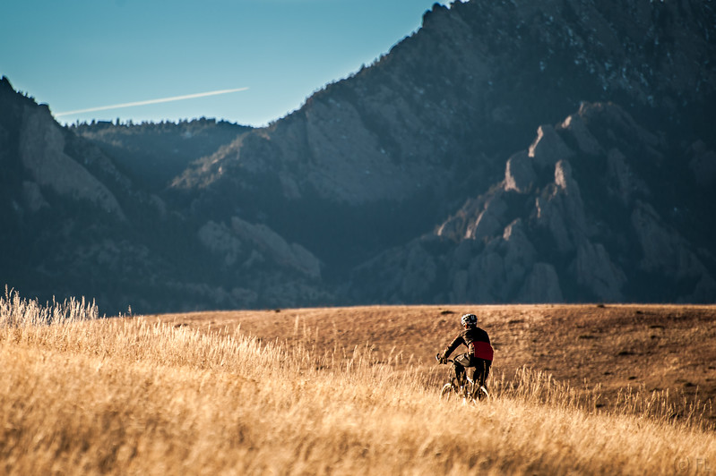 Biking in the Rockies