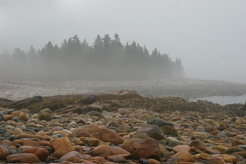 Manset , Maine    Seawall