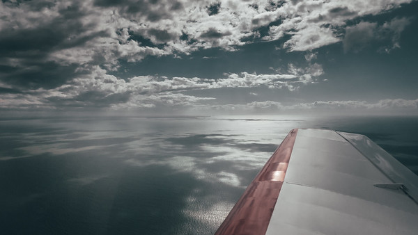 La mer vu de l'avion