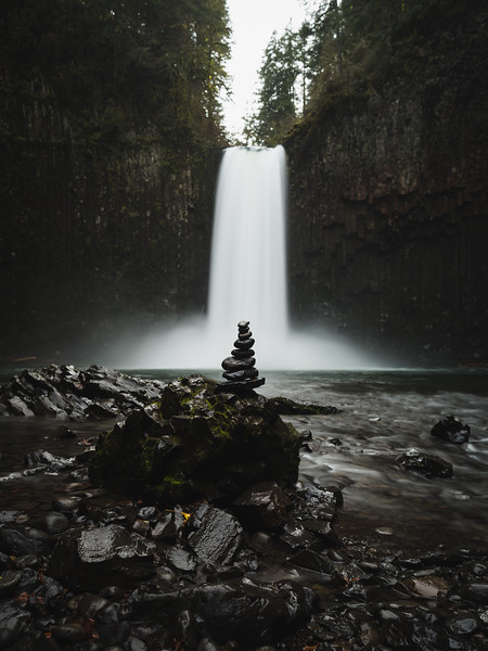 Zen at Abiqua Falls