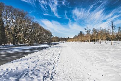 La neige, Rambouillet