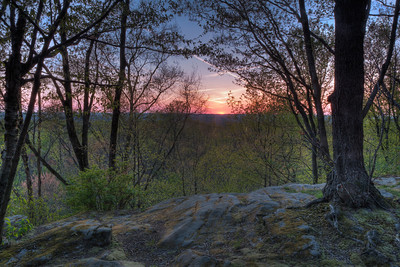 Sunset at the Ledges