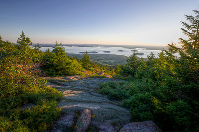 Frecnhman's Bay from Cadillac Mountain 2