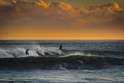 Moody Surfing