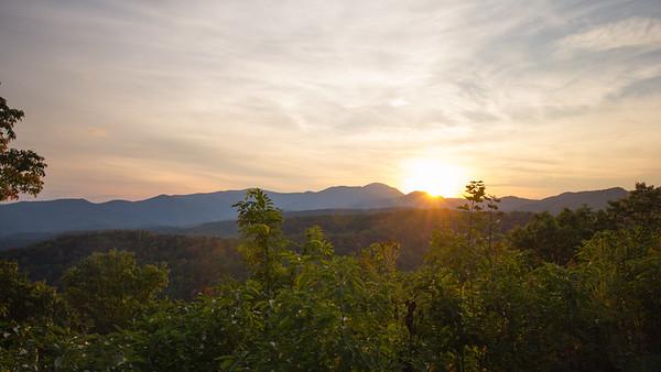 Blueridge Mountains, North Carolina