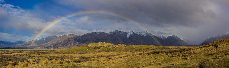 Rainbow over Edoras