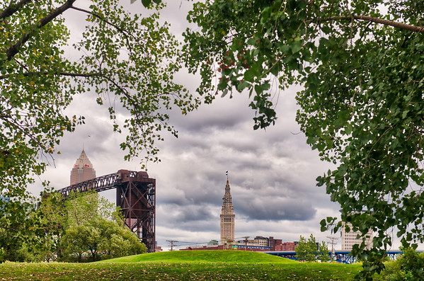 Cleveland from Wendy Park