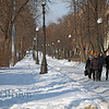 Feb 2013 Moscow walking in snow park