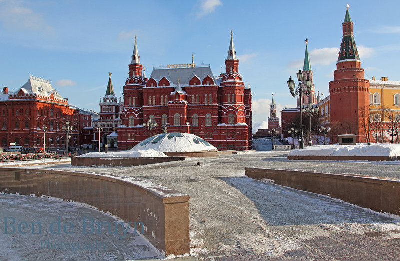 Moscow Landmark: State Historical Museum of Russia