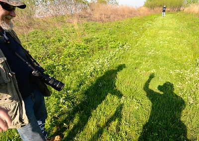 Denny and the shadow people - Cleveland Lakefront Nature Preserve