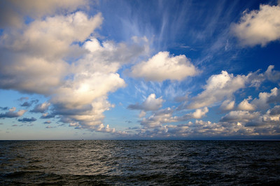 Clouds - Headlands Dunes Nature Preserve