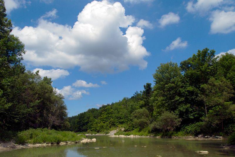 Ausable River and Gorge, the landscape version...