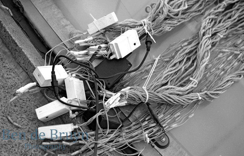 Cables outside