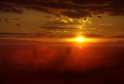 Salt Lake City Sunset