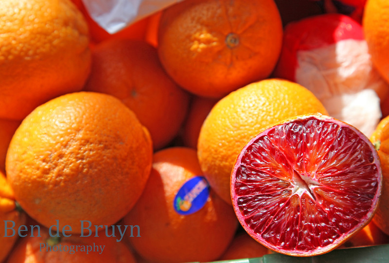 Oranges at Geneve Market