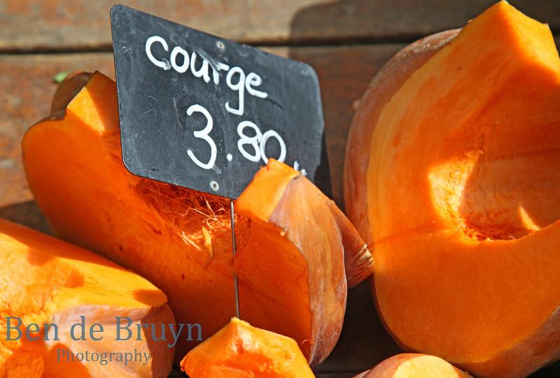 Pumpkin at Geneve Market