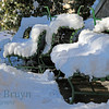 Geneve winter snow view 1