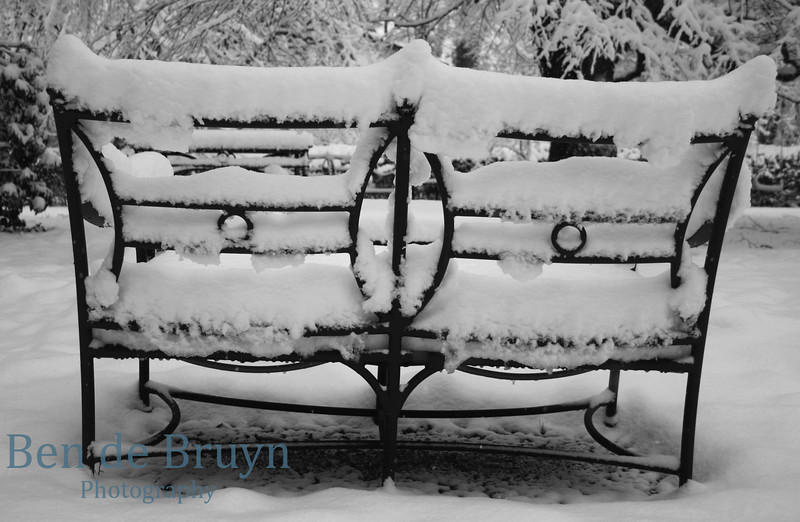 Geneve winter snow view 5