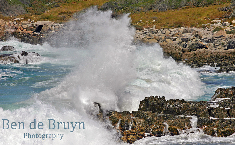 Dec 09 Hermanus waves at midday 3