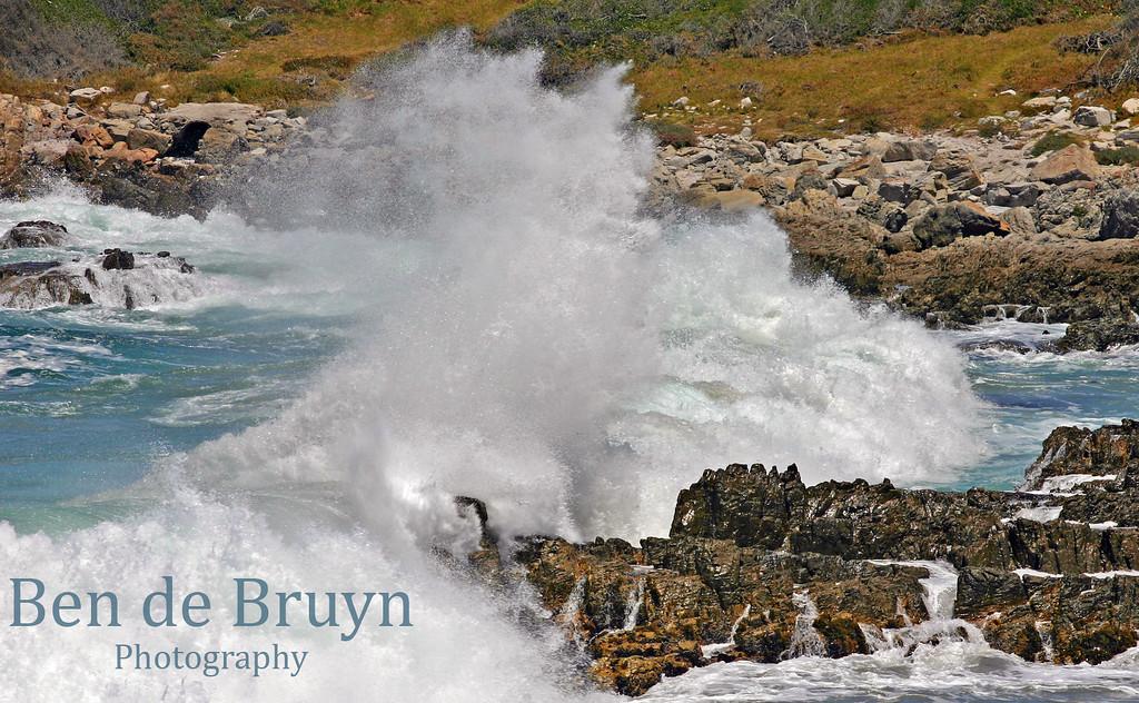 Dec 09 Hermanus waves at midday 3