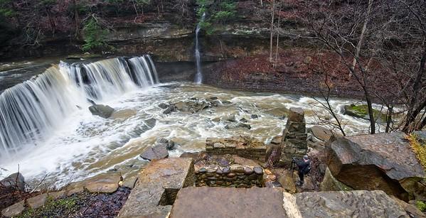 Great Falls of Tinker's Creek and Bridal Veil Falls