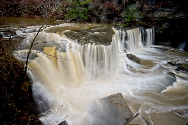 Great Falls of Tinker's Creek and Bridal Veil Falls