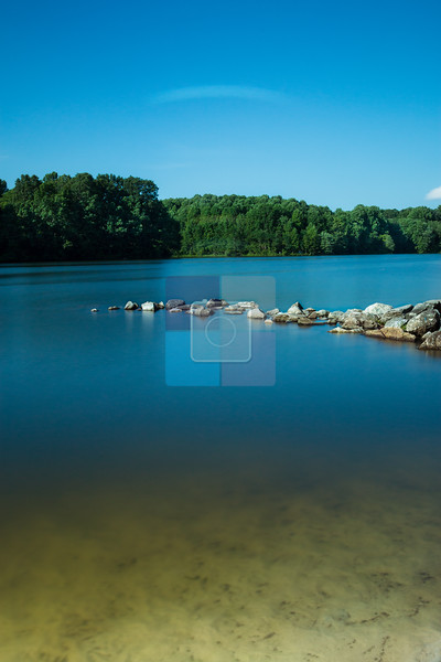 View of Centennial Lake, Ellicott City, Maryland