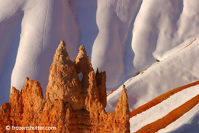 """Peaks and Streaks"" Bryce Canyon National Park - Utah"